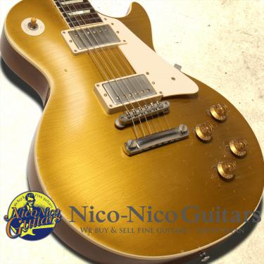 Gibson Custom Shop 2014 Historic 1957 Les Paul Gloss Finish/Murphy Aged Hand Selected (Gold)