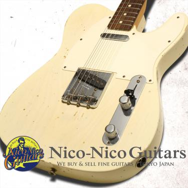 Fender Custom Shop 2013 MBS '59 Telecaster Relic Master Built by Jason Smith (White Blonde)