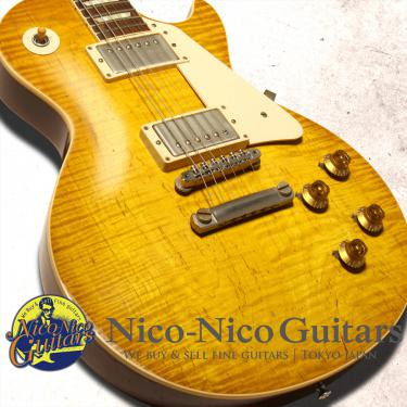 Gibson Custom Shop 2014 Historic 1959 Les Paul Heavily Aged Hand Selected (Lemon Burst)