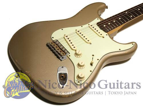 Fender Custom Shop 2011 '60 Stratocaster Relic (Shoreline Gold/MH)