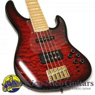 Atelier Z Beta5 Custom JH QMT (Trans Red Burst)