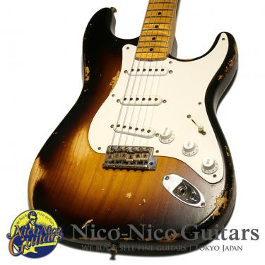 Fender Custom Shop 2014 TB 1954 Stratocaster Heavy Relic 60th Anniversary (Sunburst)