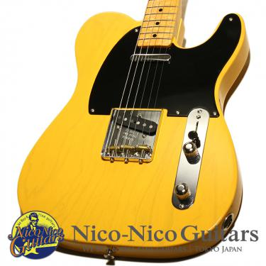 Fender Custom Shop 2019 MBS 50's Telecaster NOS Master Built by Dale Wilson (Blonde)