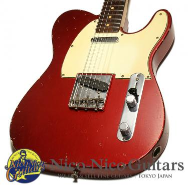 Fender Custom Shop 2000 1963 Telecaster Relic (Candy Apple Red)