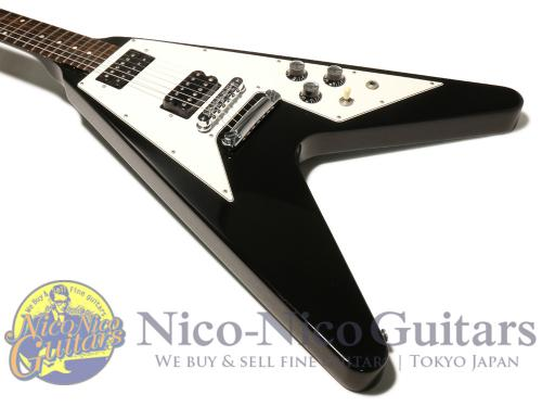 Gibson 2004 1967 Flying V (Ebony Black)
