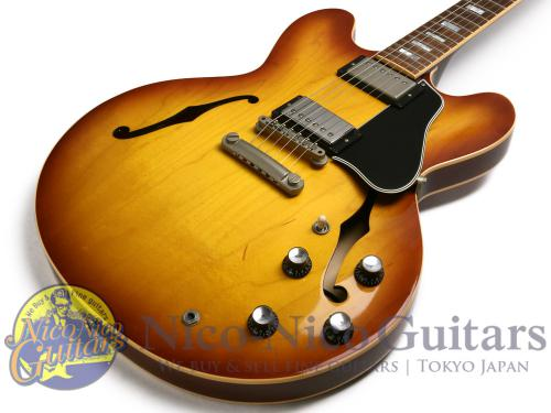 Gibson 2006 ES-335 Block Reissue (Ice Tea Burst)