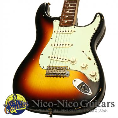 Fender Custom Shop 2007 MBS 1960 Stratocaster Relic Master Built by Jason Smith (Sunburst)