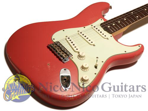 Fender Custom Shop 2011 '60 Stratocaster Relic (Fiesta Red/MH)