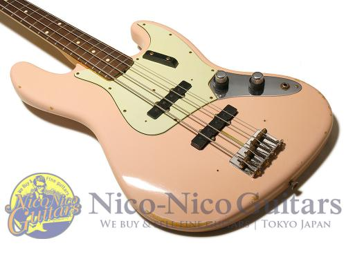 Fender Custom Shop 2013 '60 Jazz Bass Relic (Shell Pink)