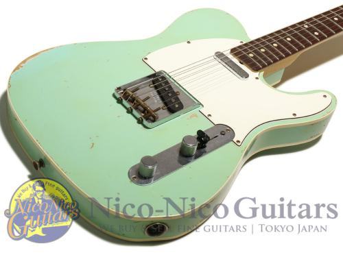 Fender Custom Shop 2013 Masterbuilt '63 Custom Telecaster Relic by Dale Wilson (Surf Green)