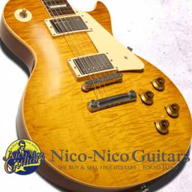 Gibson Custom Shop 2015 Historic Select 1959 Les Paul Vintage Gloss (Bella Donna Burst)