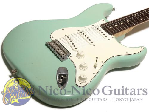 Fender Custom Shop 2012 Masterbuilt '62 Stratocaster Closet Classic by Paul Waller (Daphne Blue)