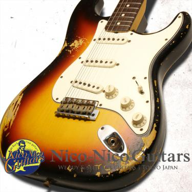 Fender Custom Shop 2013 '63 Stratocaster Heavy Relic (Sunburst)