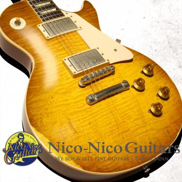 Gibson Custom Shop 2014 Historic 1959 Les Paul Heavily Aged Hand Selected (Spoonful Burst)