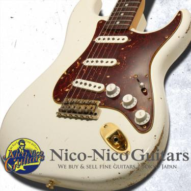 Fender Custom Shop 2008 Masterbuilt '65 Stratocaster Heavy Relic by Todd Krause (White)