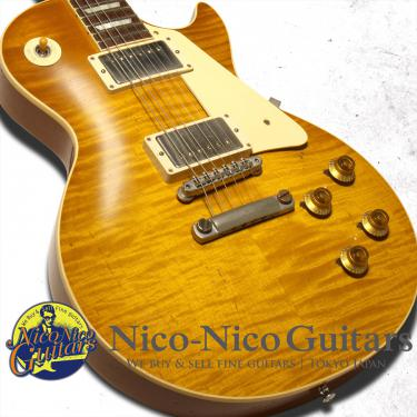 Gibson Custom Shop 2017 Standard Historic 1958 Les Paul HRM Heavily Aged (Dirty Lemon)