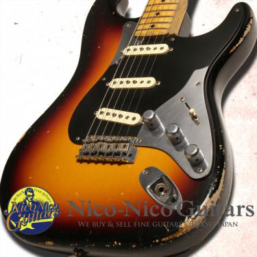 Fender Custom Shop 2016 Masterbuilt 50's Control Plate Stratocaster Relic by Todd Krause (Sunburst)