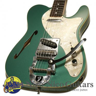 Fender Custom Shop 2012 MBS 1969 Telecaster Thinline w/ Bigsby NOS by Stephen Stern (Metallic Green)