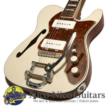 Psychederhythm 2013 HOLLOW T-Line With Bigsby (Cream White/R)