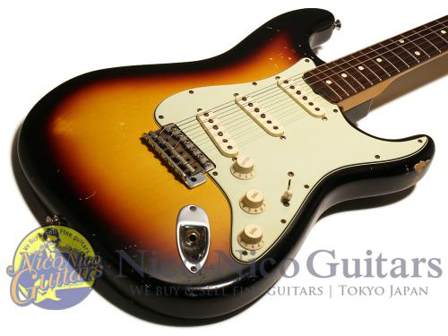 Fender Custom Shop 2011 '60 Stratocaster Relic (Sunburst)