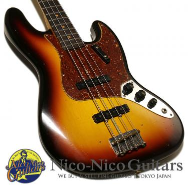 Fender Custom Shop 2017 '62 Jazz Bass Jorneyman Relic (Sunburst)