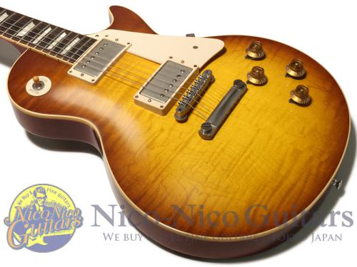 Gibson Custom Shop 2013 Historic 1958 Les Paul Lightly Figured VOS (Iced Tea Sunburst)