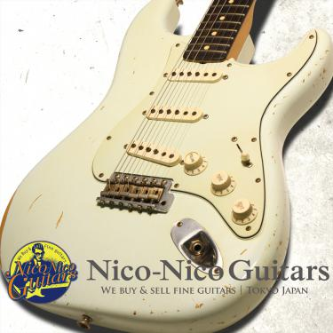 Fender Custom Shop 2006 MBS Limited Builder Select 1962 Stratocaster Relic Master Built by John Cruz (Sonic Blue)