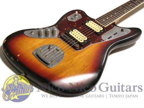 Fender Mexico 2011 Kurt Cobain Jaguar Left Hand (Sunburst)