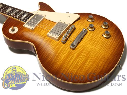 Gibson Custom Shop 2009 Historic 1960 Les Paul VOS (Iced Tea Sunburst)