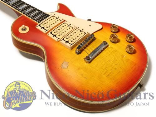 "Gibson Custom Shop Inspired by Ace Frehley ""Budokan"" Les Paul Custom Aged (Cherry Sunburst)"