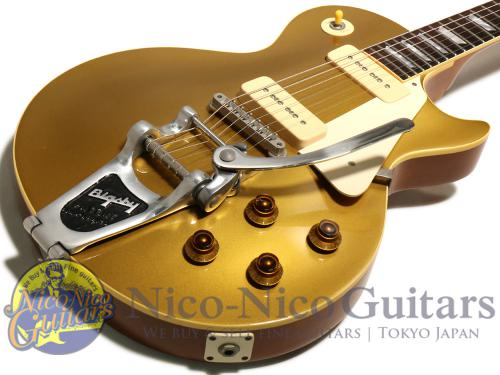 Gibson Custom Shop 2002 Historic 1956 Les Paul Bigsby (Gold)