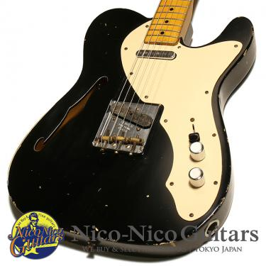 Fender Custon Shop 2005 Telecaster Thinline Relic (Black/M)