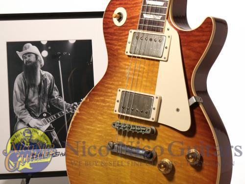 Gibson Custom Shop Inspired by Series Billy Gibbons Pearly Gates Les Paul Signed Aged (Billy Gibbons Burst)
