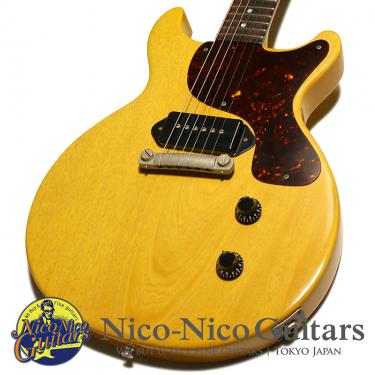 Gibson Custom Shop 2001 Historic Collection 1958 Les Paul Junior DC Reissue (TV Yellow)