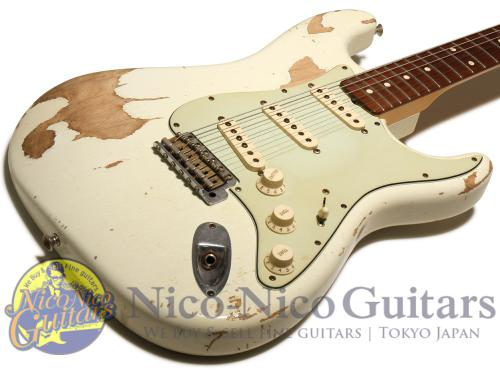Fender Custom Shop 2008 '60 Stratocaster Relic Mod (White)