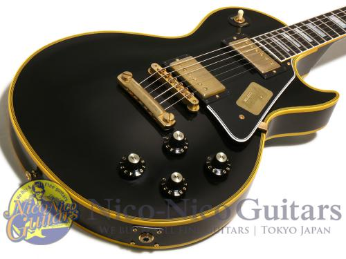 Gibson Custom Shop 2014 Historic 1968 Les Paul Custom Japan Limited (Ebony Black)
