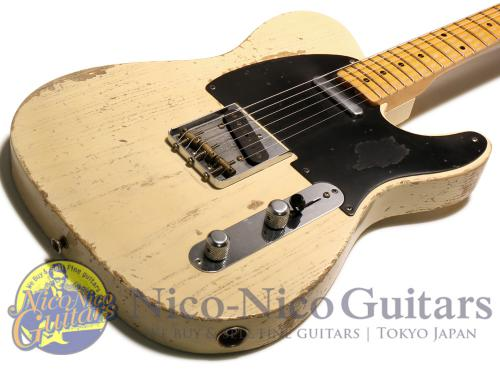 Fender Custom Shop 2016 Masterbuilt '54 Telecaster Heavy Relic by Jason Smith (White Blonde)