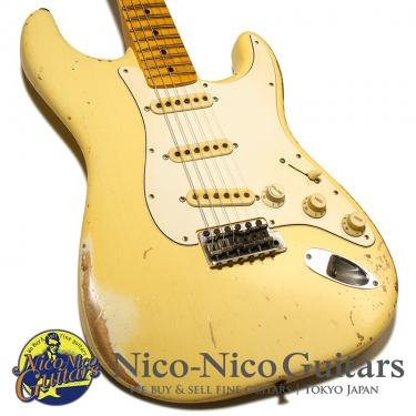 Fender Custom Shop 2018 MBS MVP 1969 Startocaster Super Heavy Relic Master Built by John Cruz (Vintage White)