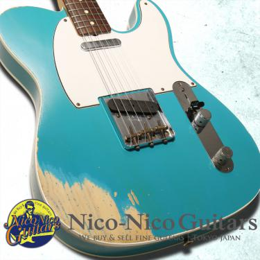Fender Custom Shop 2012 TB '59 Custom Telecaster Relic (Taos Turquoise over Vintage Blonde)