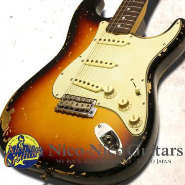 Fender Custom Shop 2018 MBS Michael Landau '68 Stratocaster Relic Master Built by Jason Smith (Sunburst)