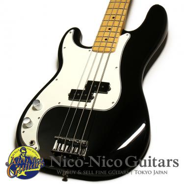 Fender Mexico Player Precision Bass Left Hand (Black)