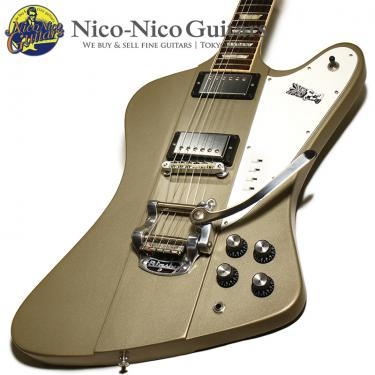 "Gibson 2013 Elliot Easton ""Tikibird"" Firebird (Gold Mist Poly)"