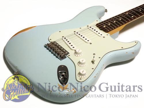 Fender Custom Shop 2011 '60 Stratocaster Relic (Sonic Blue)