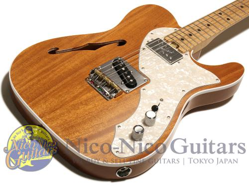 Fender USA 2017 Limited Edition American Elite Mahogany Telecaster Thinline (Natural)