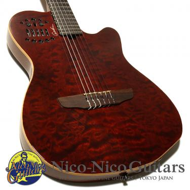 Godin 2008 ACS SA Limited 20th Anniversary QMT (Bourdeaux Red)