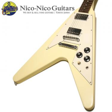 Gibson Custom Shop 2013 Historic Collection '70s Flying V Dot (White)