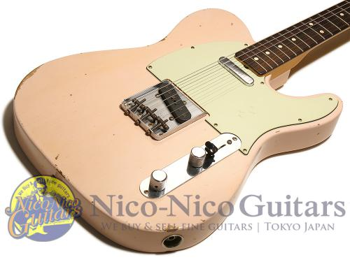 Fender Custom Shop 2016 '63 Telecaster Relic (Faded Shell Pink)