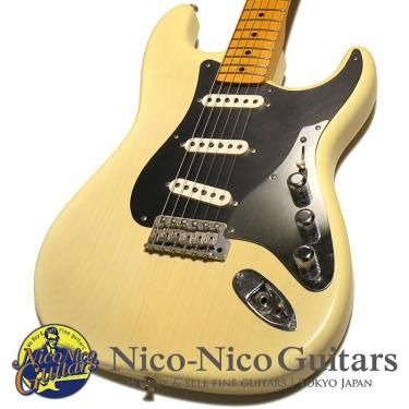 Fender Custom Shop 2011 Limited Edition George Fullerton Prototype Stratocaster Closet Classic (White Blonde Burst)