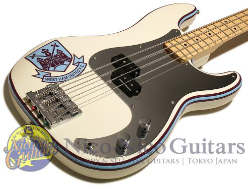 Fender Mexico 2016 Steve Harris Precision Bass Maple (Olympic White)