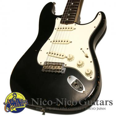 Fender Custom Shop 2014 MBS 1966 Stratocaster Relic Master Built by Paul Waller (Black/R)
